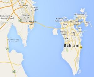 bahrain map